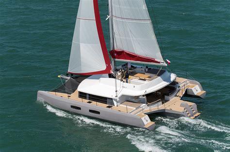 Trimaran Sailboat by Neel 65 Trimaran Photo Gallery Neel Trimarans New York
