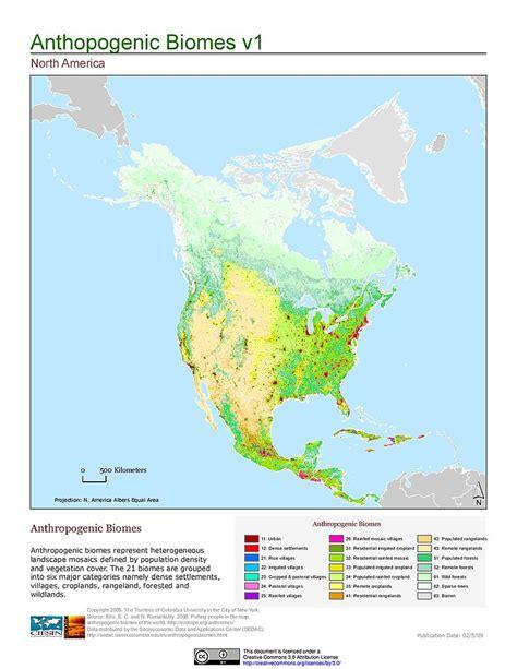 Maps » Anthropogenic Biomes Of The World, V1 Sedac