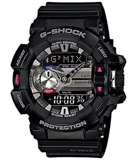 Casio G Shock Bluetooth by Casio G Shock Bluetooth Analog Digital Black S