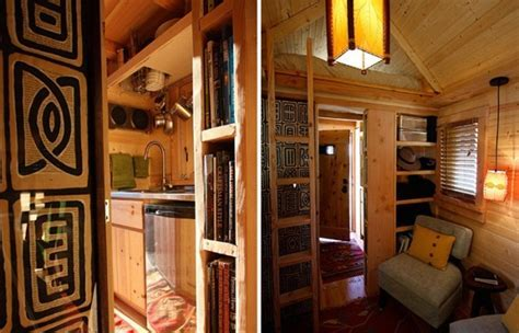 Amazing Tiny House on Wheels   Home Design, Garden