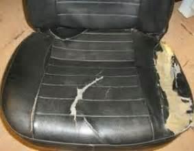 Car Seat Upholstery Repair