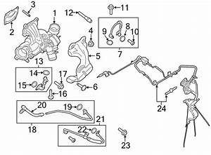 Lincoln Mkt Washer  Oil  Turbocharger  Tube  Line