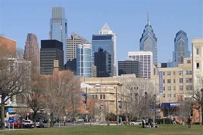 Philadelphia University Pennsylvania Downtown Skyline Campus Pa