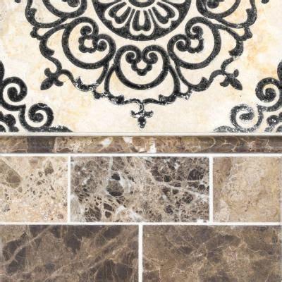 travertine floor kitchen jeffrey court saffron etched panel 12 in x 12 in x 10 mm 2918