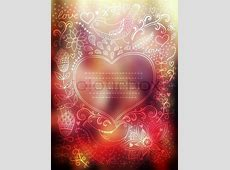 Vector Valentine's Day background Blurred template
