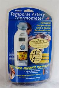 New Smart Glow Exergen Temporal Artery Thermometer
