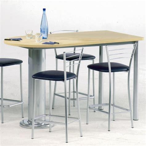 tables hautes de cuisine tabouret pour table snack