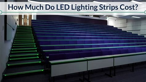 how much do led lighting strips cost