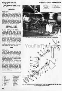Ih International 666 686 Hydro 70    86 Shop Manual  Tractor   U00ab Youfixthis