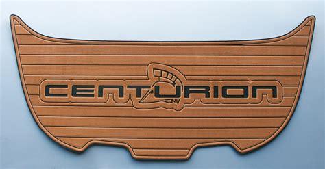 Where Are Centurion Boats Made by Centurion Swim Platform Pad With Faux Teak Seadek Made