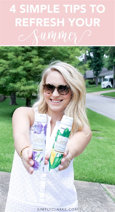 4 Simple Tips To Refresh Your Summer  Simply Clarke