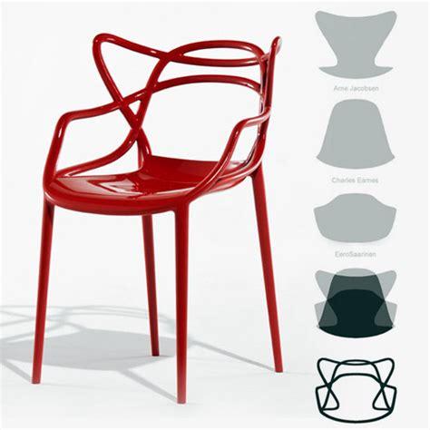 philippe de la chaise chaise masters 1 chaise qui combine 3 icones déco