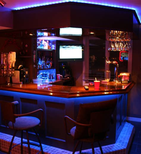 Get The Party Started With Your Own Gameroom Bar » The