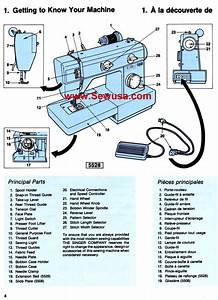 Singer 5508 5528 Instructions Manual