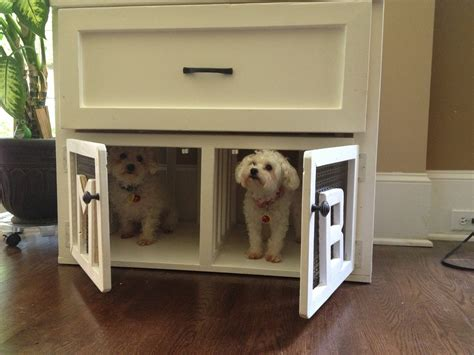 ana white pet kennel side table diy projects