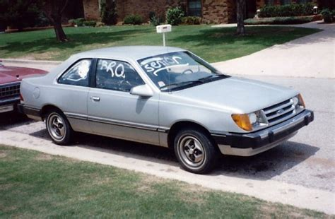 1984 Ford Tempo And 1984 Ford Ranger