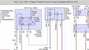 2000 Chevrolet Silverado Complete Fuel Pump Diagram  I Can