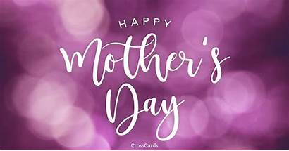 Mother Happy Mothers Ecard Cards Purple Card