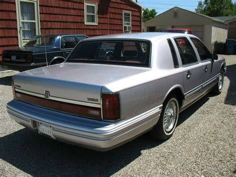 car engine manuals 1991 lincoln town car user handbook find used 1991 lincoln town car signature series sedan in millersport ohio united states for