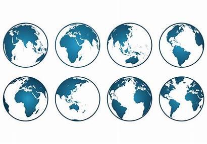 Icons Globus Vector Clipart Globe Graphics Primozong