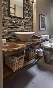 Plan Vasque Bois : plan vasque en bois naturel id es en 32 photos ~ Premium-room.com Idées de Décoration