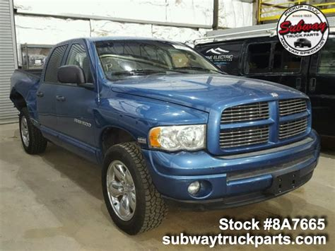 Used Dodge Ram Parts For Sale Subway Truck