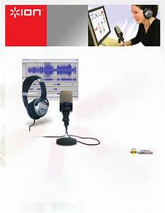 Ion Headphones Usb Mic Podcasting Kit With Microphone User