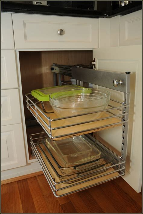 blind kitchen cabinet organizer 7 ingenious ways you can do with blind corner kitchen 4793