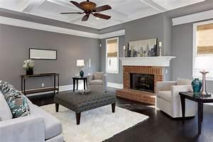 Salon Gris Blanc : d co salon gris blanc bois en 35 id es pour revitaliser votre int rieur ~ Dallasstarsshop.com Idées de Décoration
