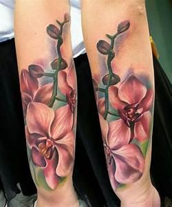 62 ideas para tatuajes de orquídeas y sus significados
