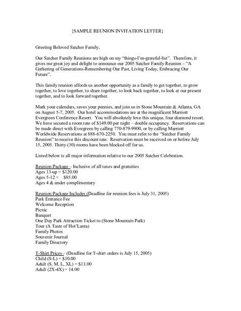 invitation letter sample fillable printable