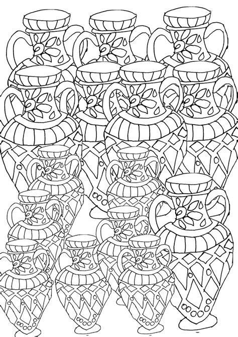 mandalas  patterns adult coloring pages