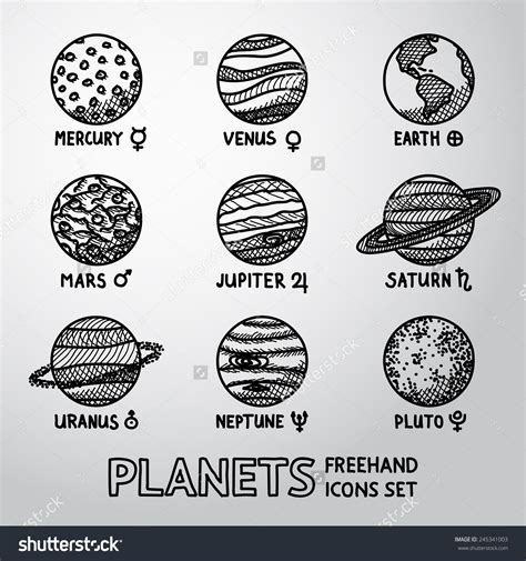 Image result for planets drawing | ouTer SpaCE | Planet ...