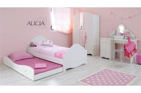 chambre à coucher fille chambre à coucher fille blanc brillant novomeuble