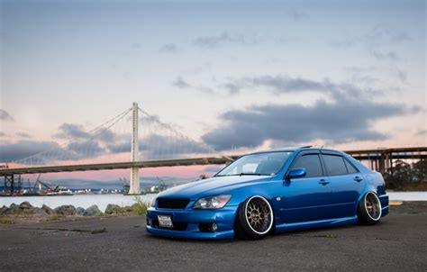 toyota altezza wallpaper wallpaper as200 height is300 blue face wheels xe10