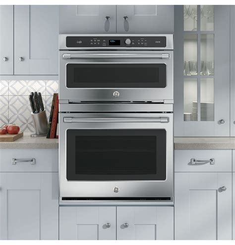 ge advantium  stainless steel electric combination wall