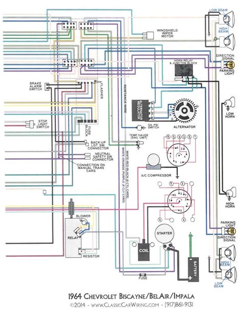 1964 Gm Engine Wiring Harnes Diagram by 1964 Chevrolet Impala Parts Literature Multimedia