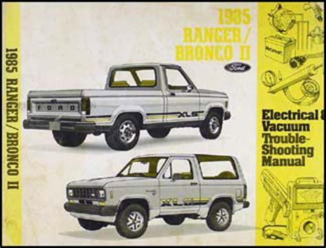 auto manual repair 1985 ford bronco ii regenerative braking 1985 ford ranger and bronco ii electrical troubleshooting manual