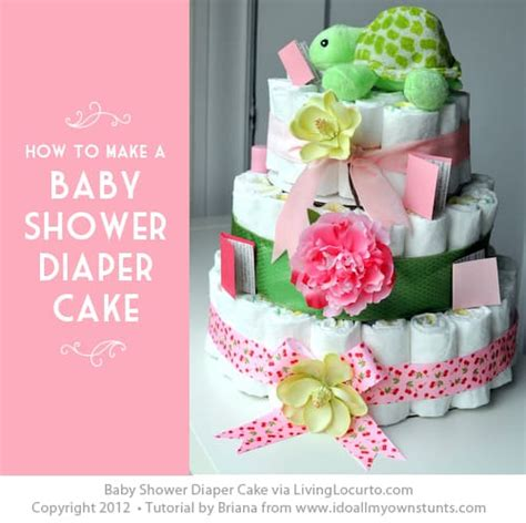 How To Prepare A Baby Shower - how to make a cake easy baby shower craft