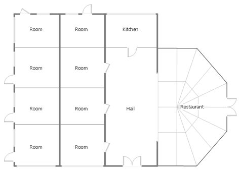 minihotel floor plan home architect software home plan examples classroom lighting