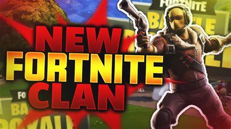 New Fortnite Clan
