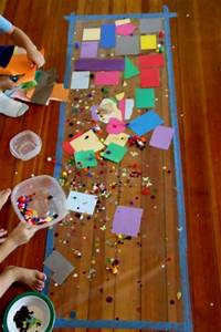 Sticky Sensory Art Activity for Toddlers