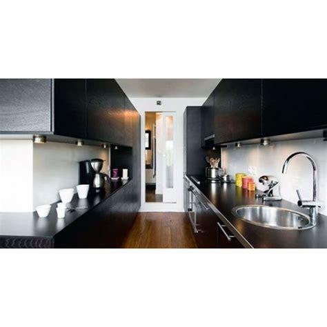 plan cuisine en longueur la cuisine couloir implantation d 39 une cuisine tout en