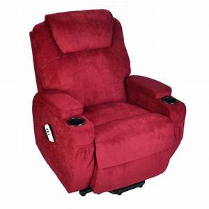 Burlington fabric dual motor electric riser recliner for Recliner lift chair