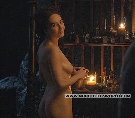 Sexy Carice Van Houten Naked As Melisandre In Game Of