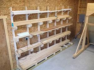 Rob's Lumber Rack - The Wood Whisperer