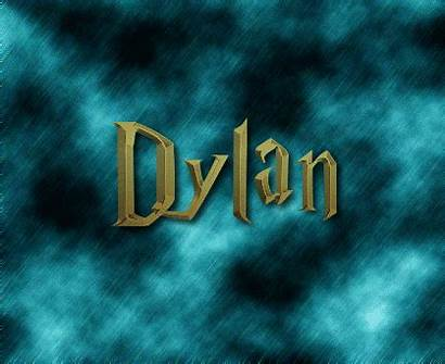 Dylan Logos Text Animated