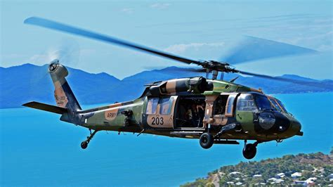 Townsville's history with Black Hawk helicopters lives on ...