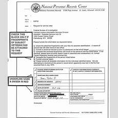Sample Of Completed Na Form 13069, Fbi Identification Letter