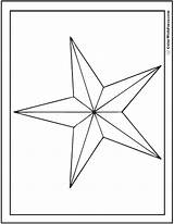 Coloring Star Pages Nautical Printable Pdf Print Colorwithfuzzy sketch template